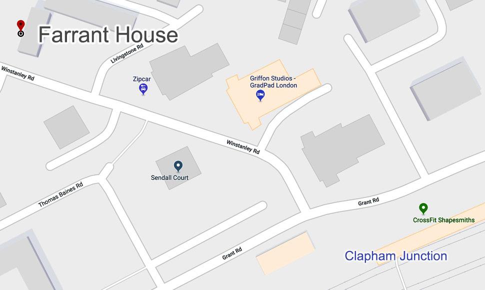 Farrrant House Map